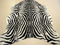 Synthethisches Fell Zebra